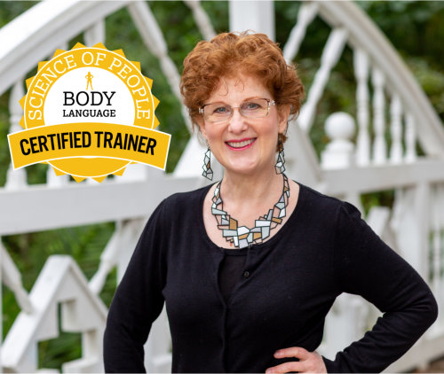 certified body language speaker Monica Levin